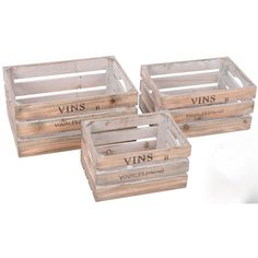 Sie können die Kisten nebeneinander stapeln, ineinander stapeln, aufeinander stapeln - ganz wie Sie möchten und wie Ihnen beliebt. Eine tolle Idee und Möglichkeit der Dekoration - ob im Innen- oder Außenbereich. | eBay!