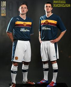 8164a295dbf Motherwell FC PUMA 2012 13 Third Kit