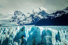 Der Gletscher Argentiniens