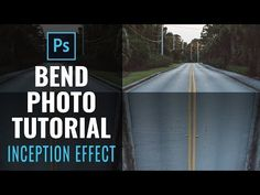 Bend a Photo - Photoshop Manipulation Tutorial - Perspective Inception Effect - YouTube