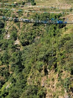 Bungy jumping in Nepal - did it long time back, want to do it again ;)