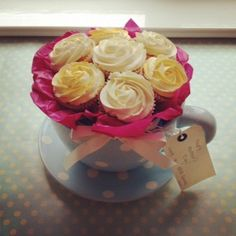 Tuesday Tutorial – Mother's Day Cupcake Rose Bouquet | Blue Door Bakery