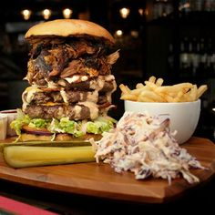 We're excited that @reddogsaloon have finally launched in #Nottingham! Get yourself down to Victoria Street and see if you can handle the Devastator. #bigportions #bigflavour #authentic #American #BBQ #foodporn #Nottingham #Notts #ribs #foodchallenge #reddogsaloon #bestburger #foodie  Yummery - best recipes. Follow Us! #foodporn