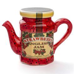 Tony Carter - Strawberry Jam Teapot Large | Peter's of Kensington
