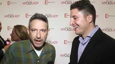 """Adam Horovitz aka AdRock of the Beastie Boys joins Arthur Kade at the premiere of """"My Old Lady"""" to support his father's, Israel Horovitz, directorial debut starring Kevin Kline."""