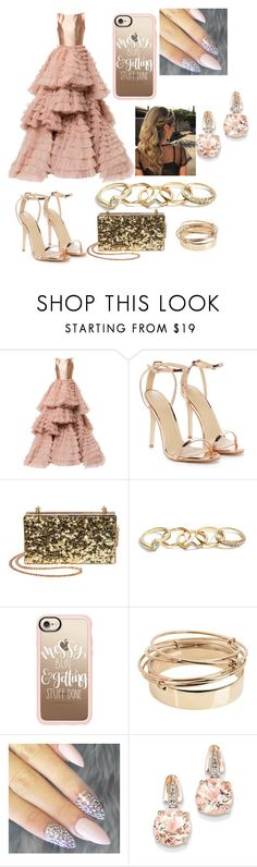 """Festa de 15❤️"" by manoeladeaguiar-farias ❤ liked on Polyvore featuring Isabel Sanchis, Nasty Gal, GUESS, Casetify, Valentino and BillyTheTree"