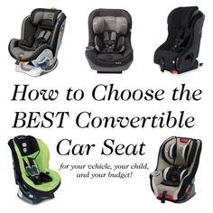 Convertible Car Seat Shopping Guide
