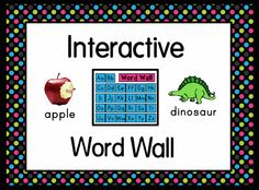This flipchart contains a word wall with words and letters A-Z. Each page has the name of the letter, words that begin with the letter, and all beginning sounds the letters make. Each page is loaded with interactive colorful pictures and tons of sounds.