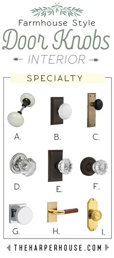 Modern Farmhouse Interior Door Knobs The Harper House pertaining to sizing 735 X 1651 Old Bedroom Door Knobs - Having the property you want to acquire Farmhouse Interior Doors, Interior Door Knobs, Modern Farmhouse Interiors, Interior Barn Doors, Exterior Doors, Farmhouse Door, Interior Paint, Farmhouse Style, Exterior Door Hardware
