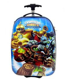 Take a look at this Skylanders Giants 16'' Wheeled Carry-On by Skylanders: Spyro's Adventure on #zulily today!