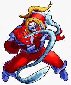 Omega Red of Marvel vs Capcom
