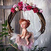 Куклы и игрушки ручной работы. Ярмарка Мастеров - ручная работа Маленький эльф Лучик (рыжий эльфёнок, фея). Handmade.