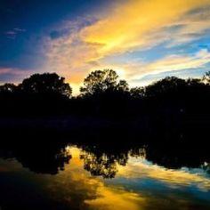 8/6/2012 Sunset over Lake Granbury