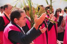 Procissão de Ramos em Pirenópolis. Foto: Pe. Danilo Malta