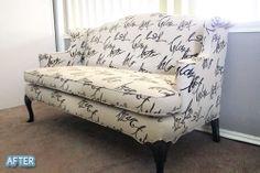 Better After: Sofa Reeking Better (say it fast!)