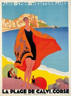 Travel Poster Canvas Wall Art France La Savoie 06