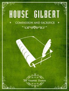 House Gilbert - The Vampire Diaries