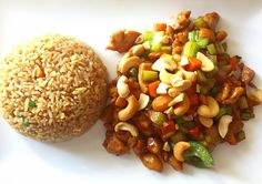 Try this: The cashew chicken at the newly open Red Fish at the former Nineteenth Century Club. They have drink specials Mon-Fri 11am-3pm with $4 wines #choose901
