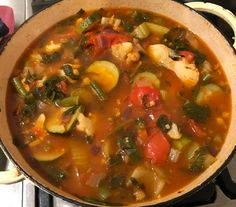 WINTER WARMER VEGETABLE SOUP