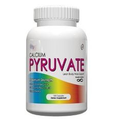 Calcium Pyruvate helps bring energy into the cells and burn weight.  Let loose that extra weight once and for all.