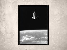 Space Shuttle Challenger taken with a 70mm camera by Chromatone