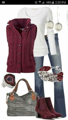 Cute Fall & Winter Outfit Ideas 2017 - Are you looking for something heavy to wear? Do you want new fall and winter outfit ideas to try in the next year? In the fall and winter seasons, the. pullovers for women pullover sweaters Outfits 2016, Mode Outfits, Casual Outfits, Fashion Outfits, Womens Fashion, Fashion Trends, Fashion Ideas, Fashion Advice, Women's Casual