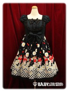 This jumper skirt has sundaes and daisies on it. My life is now complete.