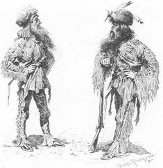 The Harpe Brothers, probably America's first serial killers.