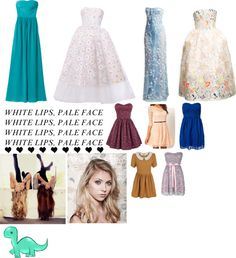 """""""most of her dresses"""" by tayzalo on Polyvore"""