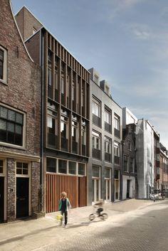 6 Viviendas en Elandshof by Bastiaan Jongerius Architecten (Amsterdam, Holanda) #architecture