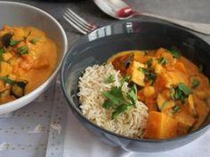 Curry Thai au lait de coco et aux pois chiches • Hellocoton.fr