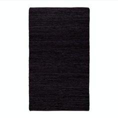 LET LIV Recycled Leather Floor Rug   LET LIV