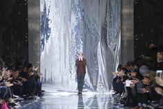 #Pasarela Berluti Menswear Fall Winter 2015 Paris Gris Metalico