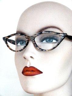 AMELIE hand made cat eye glasses