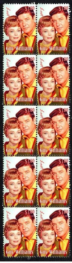 Lost in space postage stamps