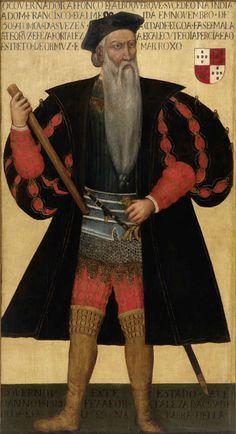 Retrato de Afonso de Albuquerque (após 1545) - Autor desconhecido - Western imperialism in Asia - Wikipedia, the free encyclopedia