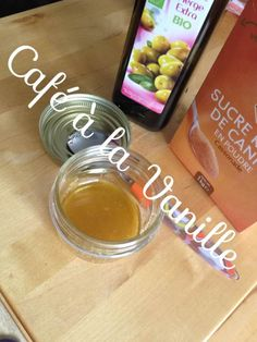 Gommage gourmand au sucre et à l'huile d'olive. Yummy olive oil and sugar face and body scrub.
