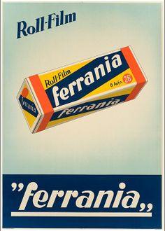 Ferrania Italian photo/film Stock