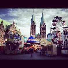 Bremen, Kleiner Freimarkt, Marktplatz