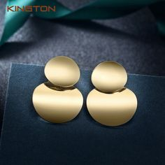 YOMXL Fashion Carved Circle Earrings Round Fashion Earring Hoop Studs Dangle Earrings Ear Studs Women Jewelry