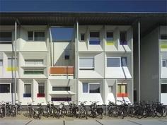 Qubic Student Housing by HVDN Architecten in Amsterdam, Netherlands