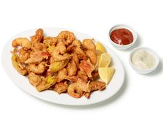 Almost-Famous Popcorn Shrimp recipe from Food Network Kitchen via Food Network