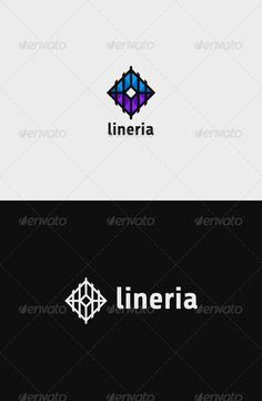 Lineria Logo — Vector EPS #rail #rectangle • Available here → https://graphicriver.net/item/lineria-logo/7761621?ref=pxcr