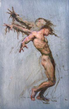 psychotic-art: Robert Liberace - Icarus