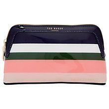 Buy Ted Baker Colour By Numbers Tillere Wash Bag, Multi Online at johnlewis.com