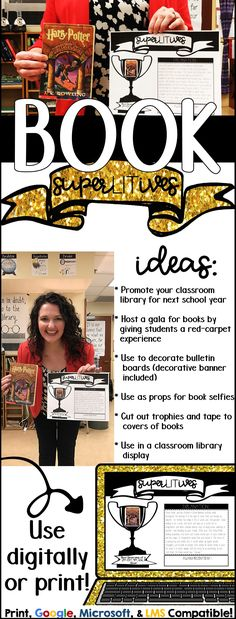 Book Superlative Book Project! A fun way to celebrate the books in your classroom.