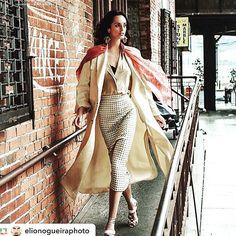 #Fumobespokenyc #blouse #readytowear for #Elle Kazakhstan  Inside Fashion Cover By @elionogueiraphoto  Model @marinetmatthee  Styling @pablo_patane  Production @ilarianiccolini @ftlmoda  #designers :  @ermannoscervino jacket and skirt @prada earings and shoes @armani scarf. @fumo_new_york blouse online fumobespokenyc.com  #womenswear #womanfashion #fashionista #fashionblogger #fashionphotography #fashionweek #dandy #dapper #customshirt #personalshoppers #fashionblogger #nyc #nyfw #branding…