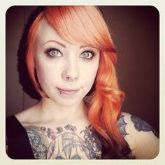 the cutest / megan massacre. I believe she is a suicide girl?  @Jerome Montgomery, do you know?