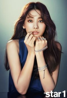Yoo In Young is sweet and sultry for '@star1'   allkpop.com