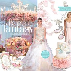 Thank you @bridalguidemagazine  for featuring the Lauren Necklace in your Floral Fantasy Story! #bridalguide #bride #floral #trend #davidtuteraembellish #davidtutera  Lauren Necklace: https://www.davidtuteraembellish.com/products/lauren-necklace